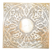 Moroccan brass wall lamp