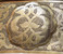 """Moroccan Repoussé Brass Ceiling Light Chandelier- Large 31"""" diameter"""