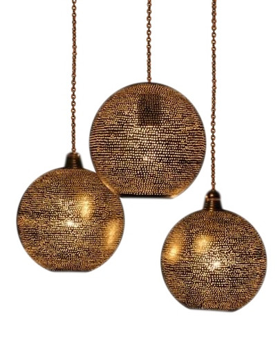 Moroccan Pendant Lamps -3 in 1