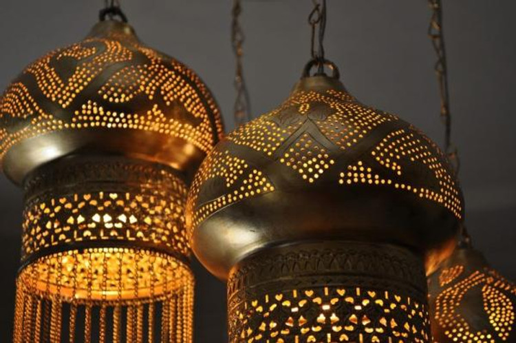 reputable site a2b64 b4a95 Moroccan Style Lighting | Moroccan Light Fixtures | Brass ...