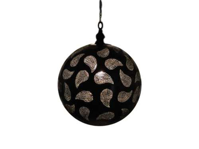 Oxidized Moroccan Hanging Lamp