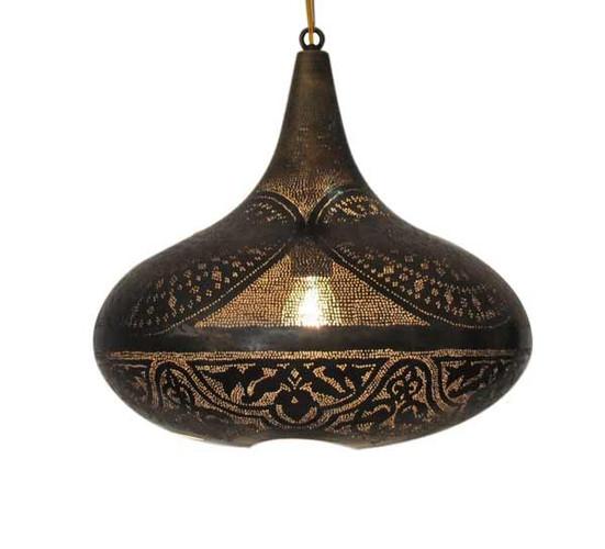 Moroccan style table lantern