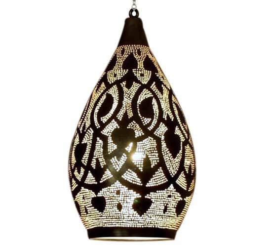 Moroccan Brass Lamp Lighting