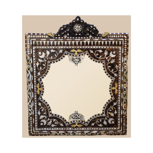 Egyptian Mother of Pearl Photo / Mirror Frame