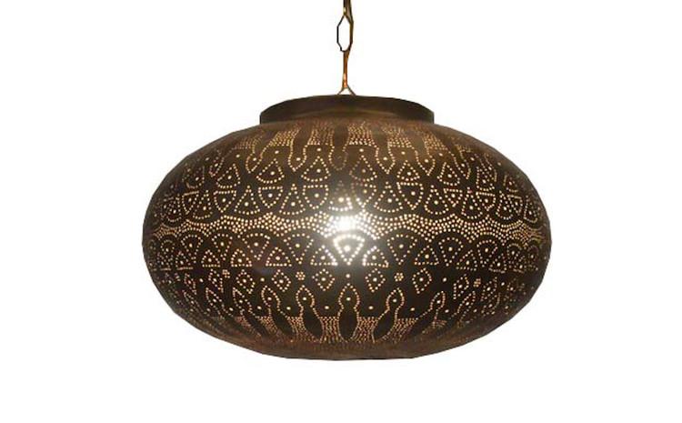 Moroccan Style Hanging Lantern Lamp