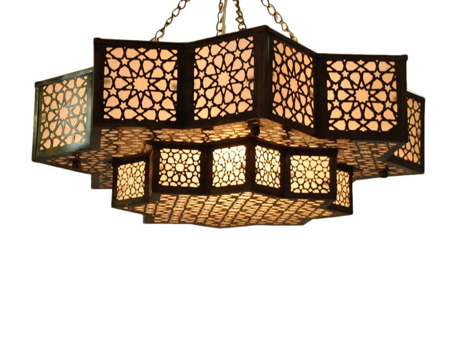 Moroccan Ceiling Light Fixture