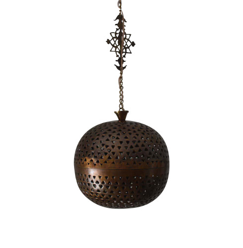 Oxidized Moroccan Lamp