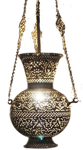 Islamic hanging lamp