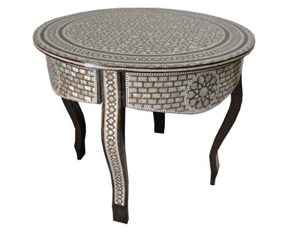 Modern Moroccan Side Coffee Table