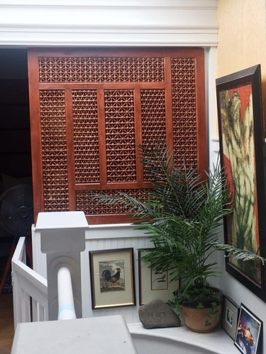 Egyptian Carved Wood Latticework Mashrabeya Mashrabiya- Custom orders