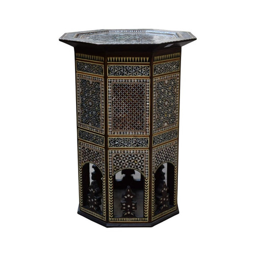 Turkish Mother of Pearl End Table