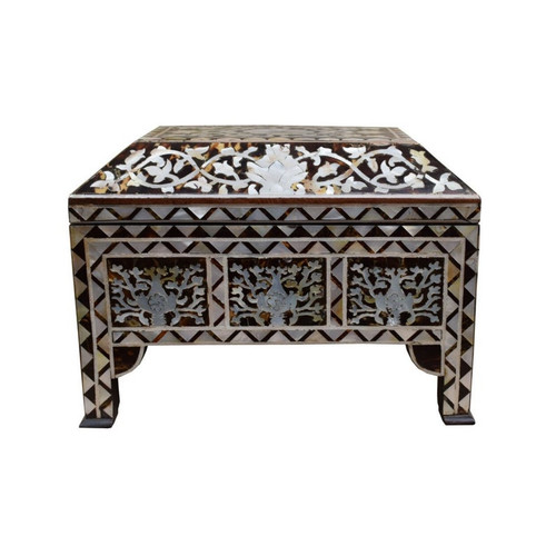 Turkish Ottoman Tughra Chest Jewelry Box