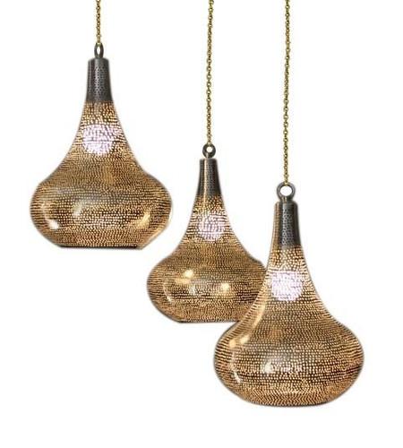 Contemporary Moroccan Hanging Lanterns