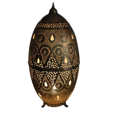 Moroccan floor lamp