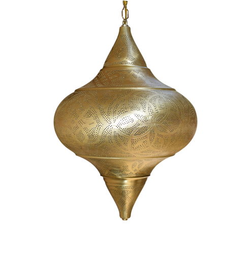 Highly-Detailed Handcrafted Moroccan Hanging Lamp
