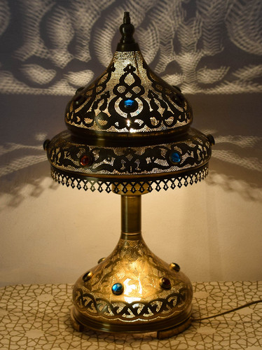 Solid Brass Table Lamps Traditional Brass Table Lamps E Kenoz