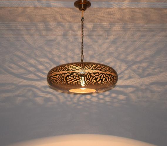 Moroccan Pendant light-Pendant lighting-Moroccan Lamp-Bronze hanging lamp