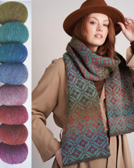 A Colourful Twist on Felted Tweed