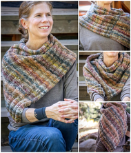 A Colorful Cowl & Our New Favorite Magazine!
