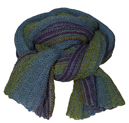 Isager Pattern Tyk and Tynd Scarf-105505