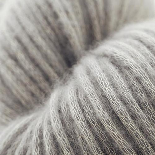 Woolfolk Luft Yarn L02 Medium Gray-0
