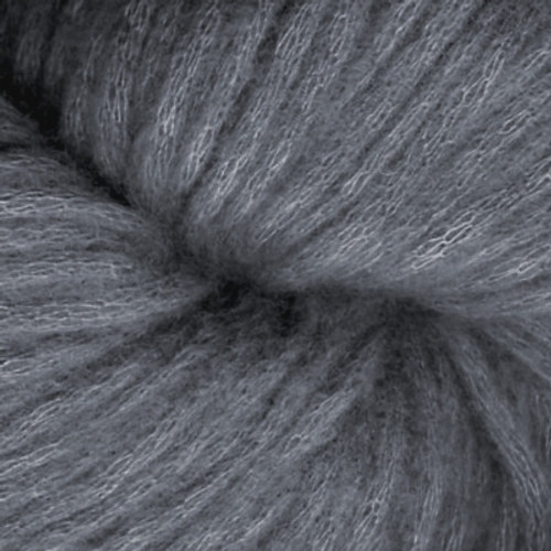 Woolfolk Luft Yarn L12 Blue Gray-0