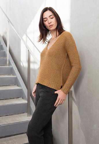 Woolfolk Pattern Guld Pullover-0