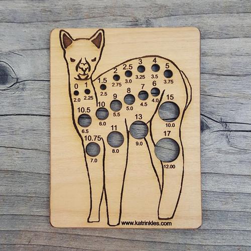 Katrinkles Animal Needle Gauge Alpaca-0