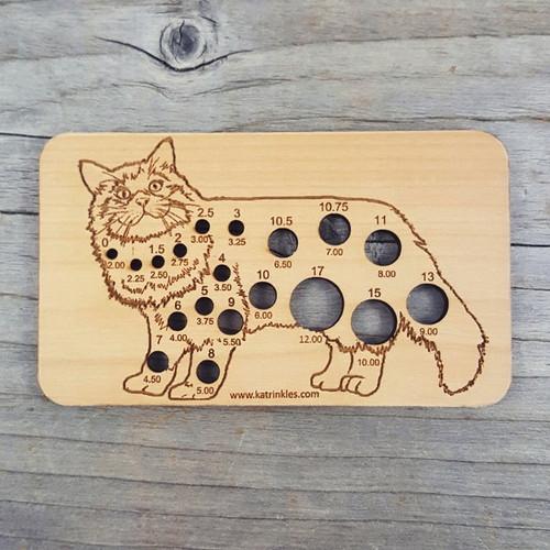Katrinkles Animal Needle Gauge Cat-0
