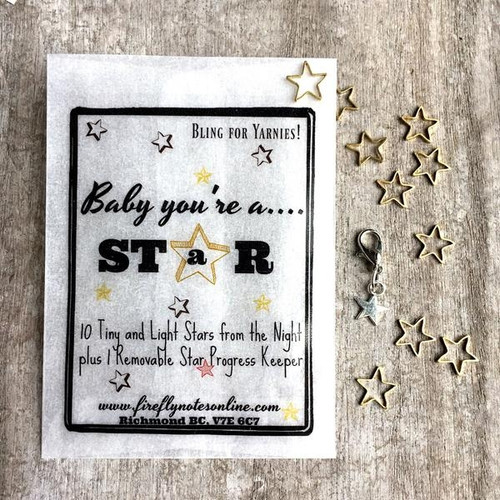 Firefly Notes Stitch Markers Stars-0
