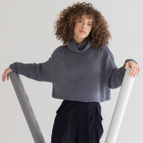 Woolfolk Pattern Hassel Pullover - Digital