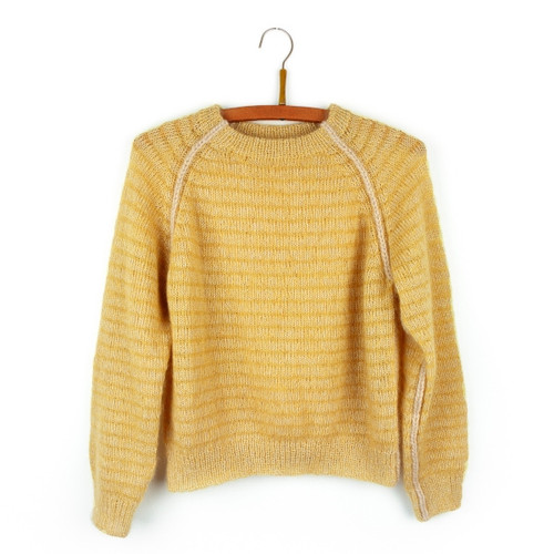 Isager Sunny Pullover Kit-147335