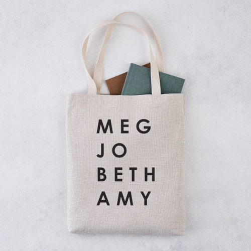 Bookishly Tote Little Women March Sisters