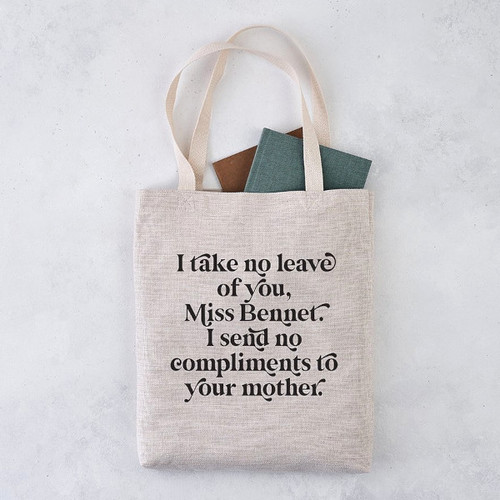 Bookishly Tote I Send No Compliments