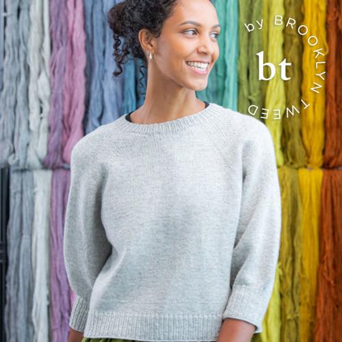 Brooklyn Tweed Pattern First Raglan Sweater