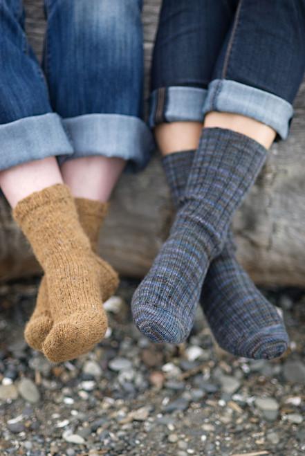 Churchmouse Pattern Basic Sock-0