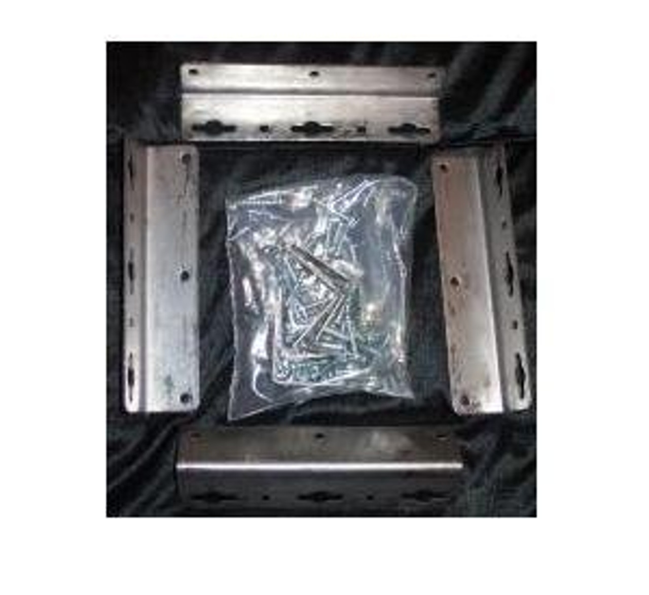 Waterbed Hardware Brackets Screws For California King Queen Super Single Hardside Wood Frame Water