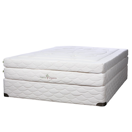 Natura Organics EcoSoftique Plush 11 Inch Latex Mattress