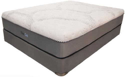 NexGel Sweet Mornings LatexGel 12 inch Mattress|nexgel, orthogel, gel mattress, gel bed, sweet mornings latex gel, plant based foam