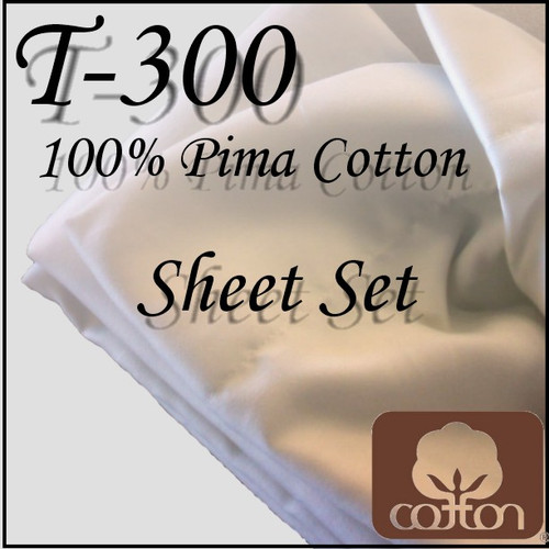 London Bridge Linens T-300 Cotton Conventional Sheet Set|london bridge linens, t300, cotton, conventional, sheet sets