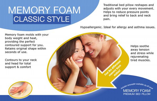Slumber Saver Memory Foam Pillow