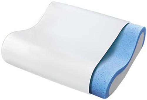 Gel Memory Foam Contour Pillow  by Sleep Innovations|sleep innovations, memory foam, pillows, contour, gel memory foam