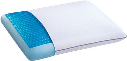 Gel Infused Memory Foam Pillow with CoolGel HD by Sleep Innovations|sleep innovations, memory foam, pillows, gel infused, coolgel hd