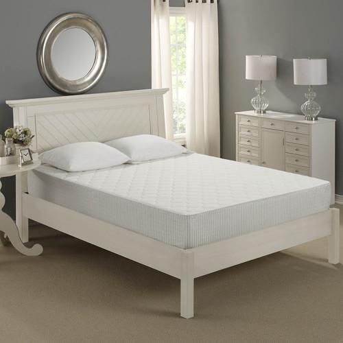 Gel Swirl Memory Foam 10 in Mattress by Sleep Innovations|sleep innovations, memory foam, mattresses, gel memory foam, 10 in