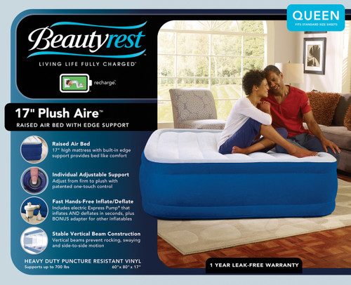Boyd BeautyRest Plushaire Express Bed|boyd specialty sleep, beauty rest, air bed, plushaire, express bed, queen, twin