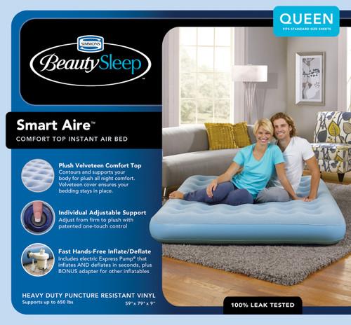 Boyd BeautySleep Smartaire Express Bed|boyd specialty sleep, beautysleep, air bed, smartiare, express bed, queen, twin
