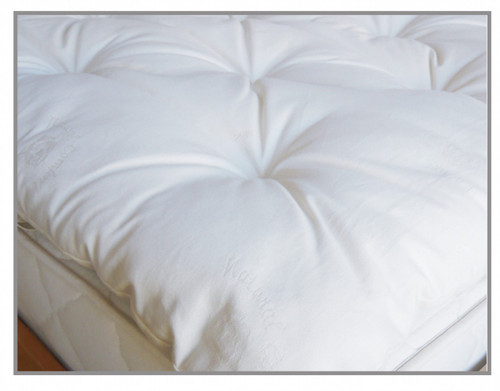 Suite Sleep Super Comfort 3 inch Carded Wool Topper|suite sleep, toppers, wool toppers