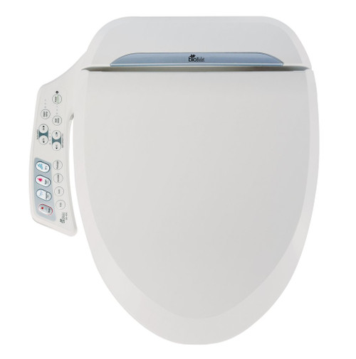 Ultimate Luxury Class Bidet Seat Model BB-600 With Convenient Side Control Panel by BioBidet