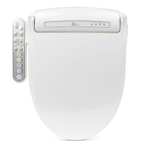 Prestige Luxury Class Bidet Seat Model BB-800 With Convenient Side Control Panel By BioBidet