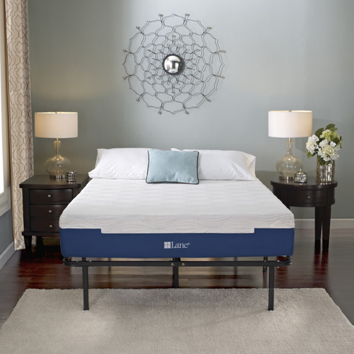 Boyd Specialty Sleep Lane Posture Sense Contour Lux V 11 inch Liquid Gel Infused Memory Foam Mattress|boyd specialty sleep, mattresses, lane contour lux V, memory foam mattress, 11 inch, gel infused